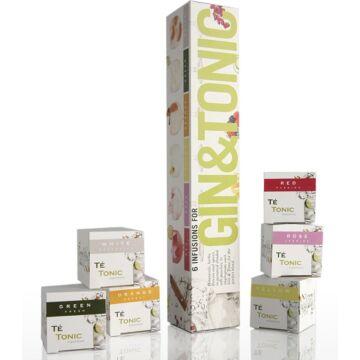 G&T-EA Nanopack Gintonik fűszer Selyemfilterben Gintonikhoz 6db/csomag