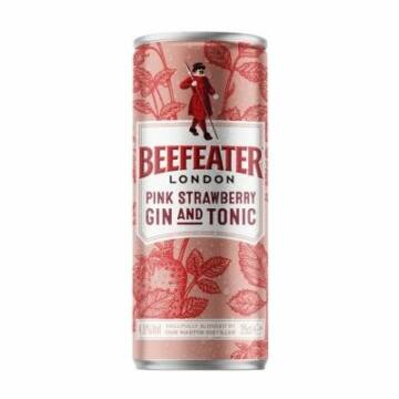 Beefeater Gin & Tonic Pink Strawberry [0,25L 4,9%]