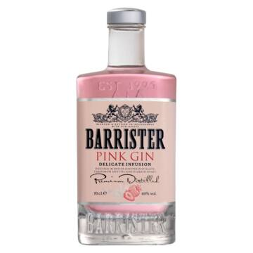 Barrister Pink Gin 0,7l 40%