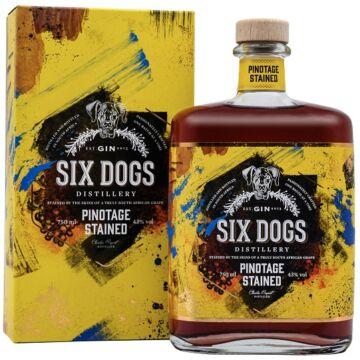 Six Dogs Pinotage Gin 0,7l 43%