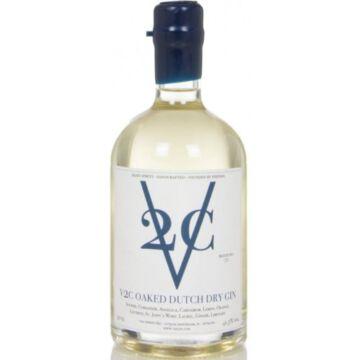 V2C Oaked Dutch Dry Gin 0,5L  41,5%