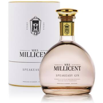Mrs. Millicent Speakeasy Gin Díszdobozban 0,7 44,4%