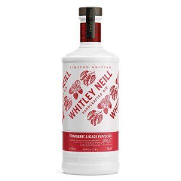 Whitley Neill Strawberry-Pepper (Eper-Bors) Gin 0,7 43%
