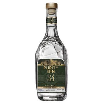 Purity Gin 34 Nordic Dry Organic 43% (zöld) 0,7