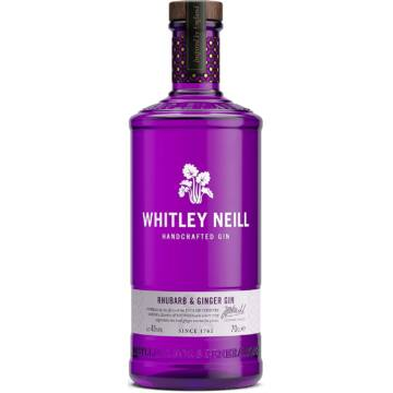 Whitley Neill Rhubarb Ginger Gin 43% 0,7