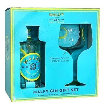 Malfy Gin con Limone - 0,7L (41%) pdd.+pohár