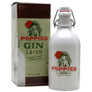 Poppies Gin - 0,5L (40%) kerámia, pdd.