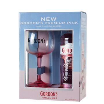 Gordons Premium Pink Gin - 0,7L (37,5%) pdd. + pohár