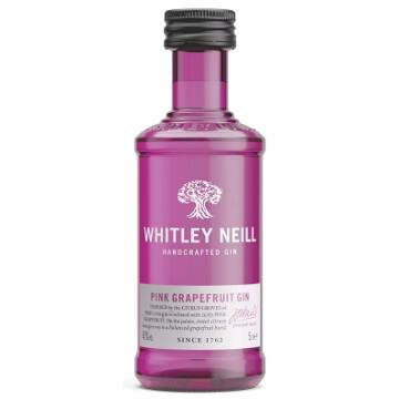 Whitley N. MINI P. Grapefruit (Rózsaszín grapefruit) Gin 0,05 43%
