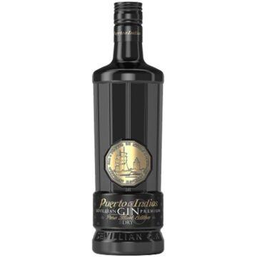 Puerto de Indias Premium Black Edition Gin - 0,7L (40%)