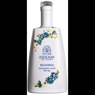 ZSOLNAY THE LUXURY Búzavirág kézműves Gin 0,7 (40%)