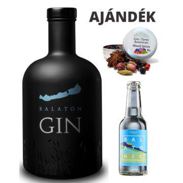 Balaton gin - 0,7L (40%) ajándék fűszerrel és tonikkal