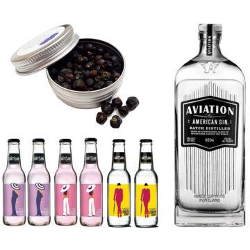 Aviation Gin Tonik szett ajándék borókabogyóval