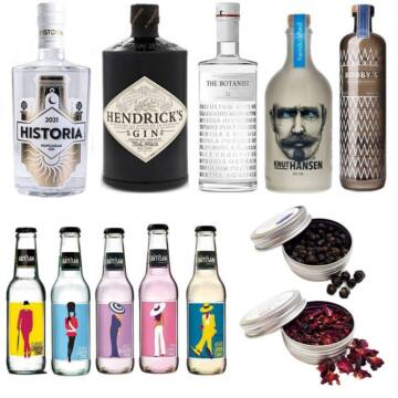 Exkluzív Gin válogatás Ajándék Ginfűszerrel + Ajándék Tonikokkal
