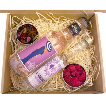 Mini Levendula Gin Tonik szett Violet  tonikkal és ginfűszerekkel