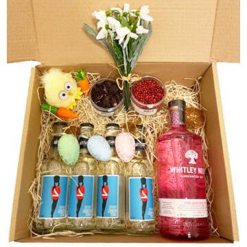 Húsvéti Whitley Neil Pink Grapefruitos Gin Tonik szett papír díszdobozban