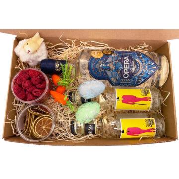 Húsvéti Opera Gin Tonik csomag papír díszdobozban