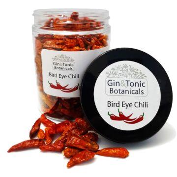 Gin Tonic Botanicals közepes tégelyben Szárított Madárszem Chili Egész 60 gr