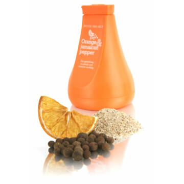 G&T-EA Naranccsal és Jamaicai Borssal Ízesített Tengeri Só - 100gr