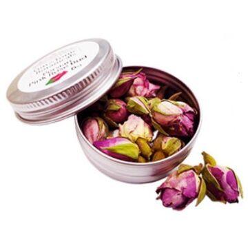 Gin Tonic botanicals mini fém tégelyben, pink perzsa rózsa bimbó 6gr