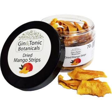 Gin Tonik fűszer kis tégelyben, szárított mangó csíkok - 70gr
