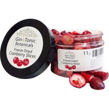 Gin Tonik fűszer kis tégelyben liofilizált szeletelt vörösáfonya 10 gr