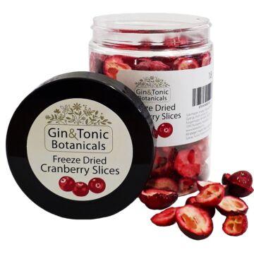 Gin Tonik fűszer közepes tégelyben liofilizált szeletelt vörösáfonya 18 gr