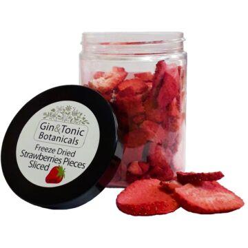 Gin Tonik fűszer közepes tégelyben liofilizált szeletelt eper 18 gr