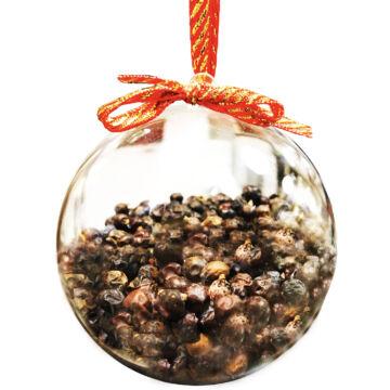 Borókabogyó Gintonik fűszer akril gömb-ben. 75 gr