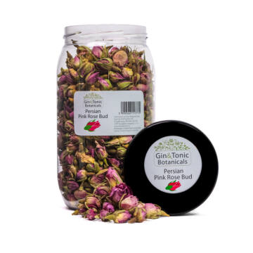 Gin Tonik fűszer nagy Gasztró tégelyben Pink Perzsa Rózsa Bimbó 155 gr