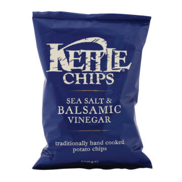 Kettle balzsamecetes-sós burgonyachips 150g