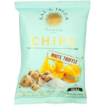 Sal de Ibiza fehér szarvasgombás chips 125g