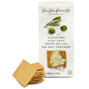 Fine Cheese Gluténmnetes kréker keksz olívaolajjal és tengeri sóval 100g