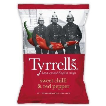 Tyrrell's Burgonyachips - Édes chilivel és paprikával (40g)