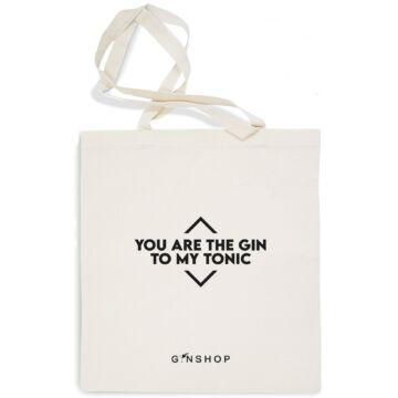 Feliratos Gin Tonic Vászontáska Your Are The Gin