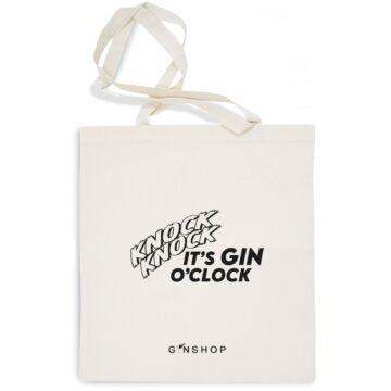 Feliratos Gin Tonic Vászontáska Knock Knock