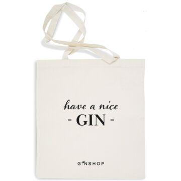 Feliratos Gin Tonic Vászontáska Have a Nice