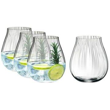 Riedel Optic Gin&Tonic pohár set dobozban 4db/cs