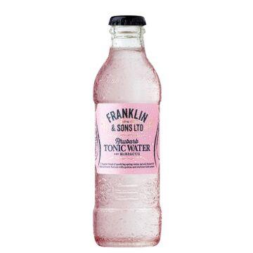 Franklin and Sons Rebarbarás hibiszkusos tonic 200 ml