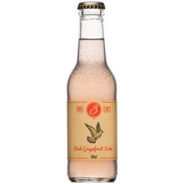 Three Cents - Pink Grapefruit Soda 200 ml
