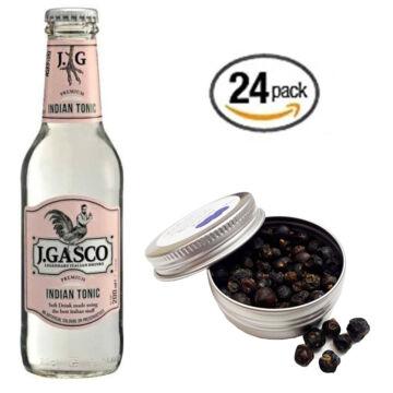 24 db J Gasco Indián Tonik szett Ajándék Boróka bogyó ginfűszerrel