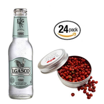24 db J Gasco Dry Tonik szett Ajándék Rózsabors ginfűszerrel
