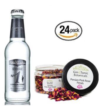 24 db Peter Spanton No1 Tonik szett Ajándék Rózsa szirom ginfűszerrel
