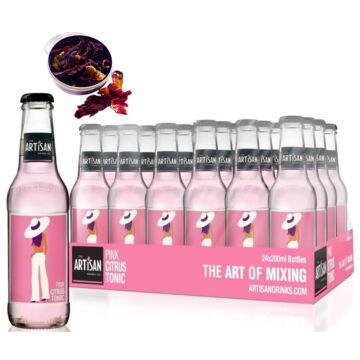 24 db Artisan Pink Grapefruit Tonik 200ml Ajándék Hibiszkusz virággal