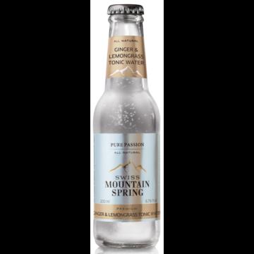 Swiss Mountain Spring Tonik - Ginger/Lemongrass Tonic Water - 0,2L