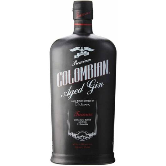 Dictador Colombian Aged Gin Black 0,7L 43%