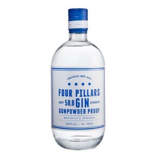 FOUR PILLARS Navy Strength Gin 0,7L 58,8%
