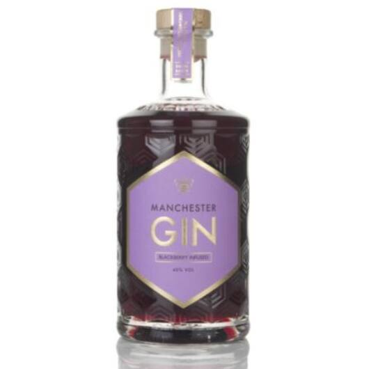 Manchester Blackberry Infused Gin [0,5L 40%]