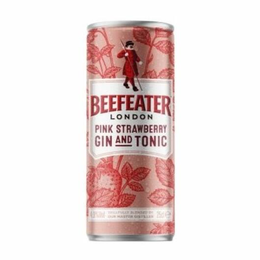 Beefeater Gin & Tonic Pink Strawberry [0,25L|4,9%]