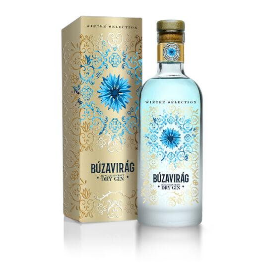 Búzavirág Dry Gin Winter Selection 0,7L 40%